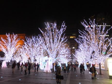 博多駅前イルミネーション4